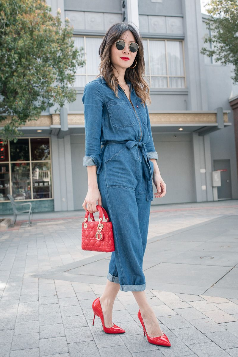 a78eee248e44 Denim Jumpsuit from Day to Night