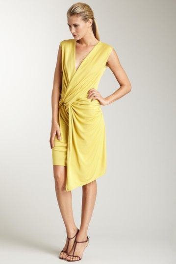C T Twist Front Sleeveless Dress Diffe Color
