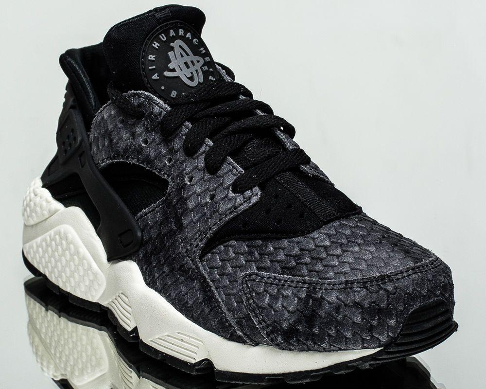 sale retailer 3351c e2054 Nike WMNS Air Huarache Run Premium women lifestyle casual sneakers 683818-013   Nike  FashionSneakers