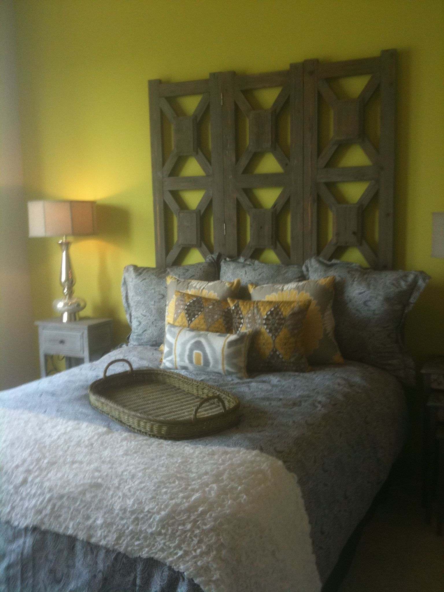Nice headboard.. Headboard, Furniture, Home decor