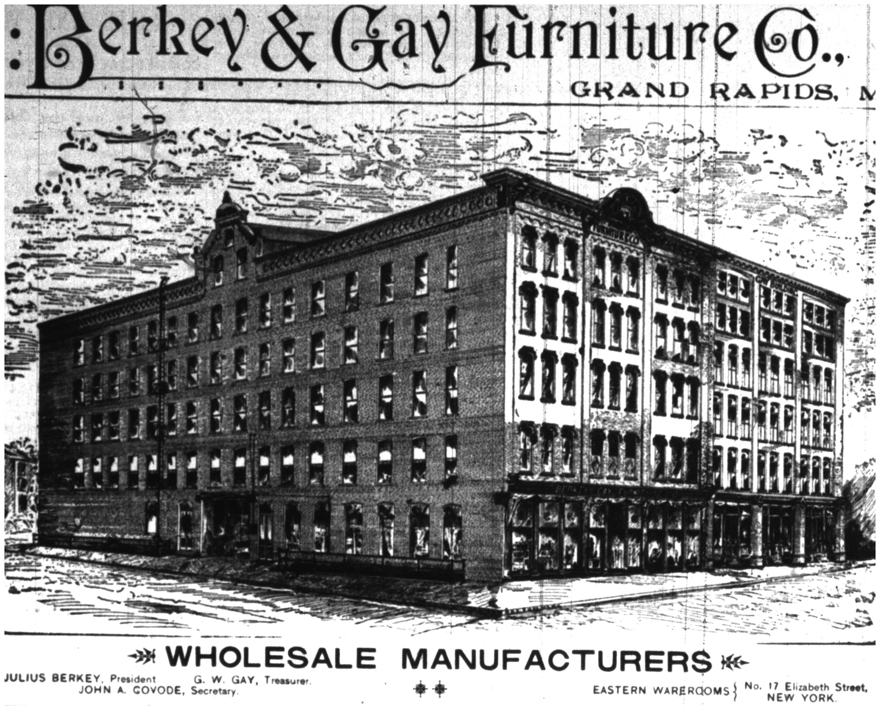 Berkey And Gay Furniture Factory