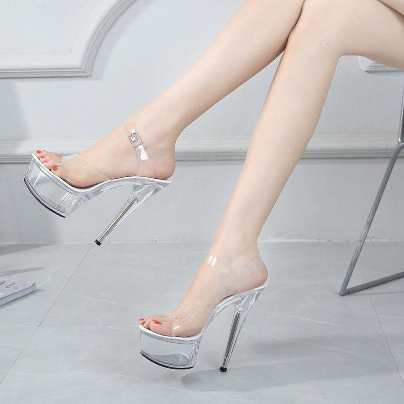 Torno Waterproof High Heels In 2021 Wedding Shoes Heels Clear High Heels High Heels