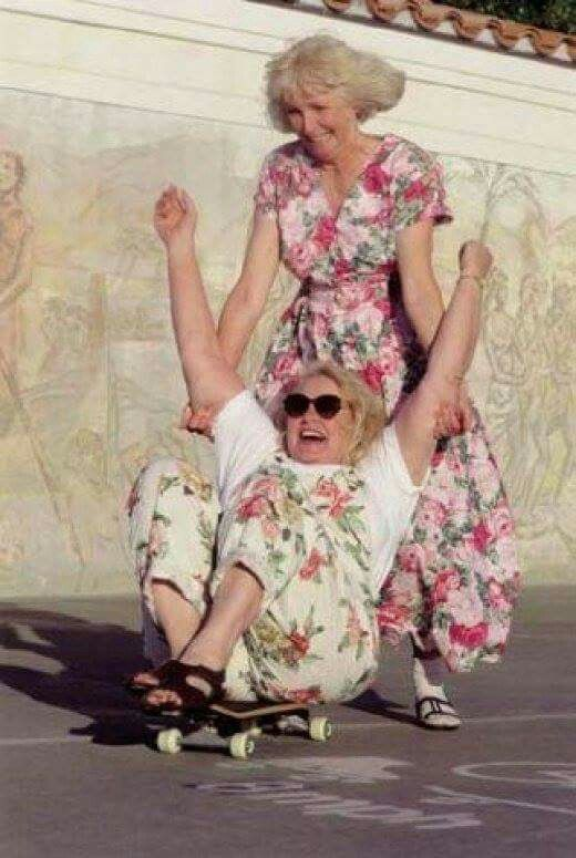 Mom & aunt Diane