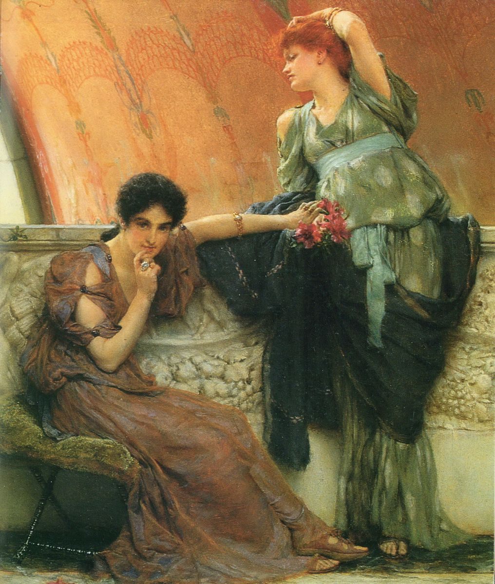 Sir Lawrence Alma-Tadema Art Painting 1.jpg