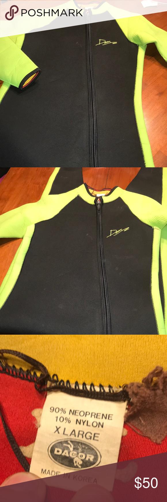 DACOR Flyt Suit - Women s Xl Dive Wetsuit DACOR Flyt Suit - Women s Xl Dive  Wetsuit - Long Sleeves - Green Black dacor Accessories feef7988a