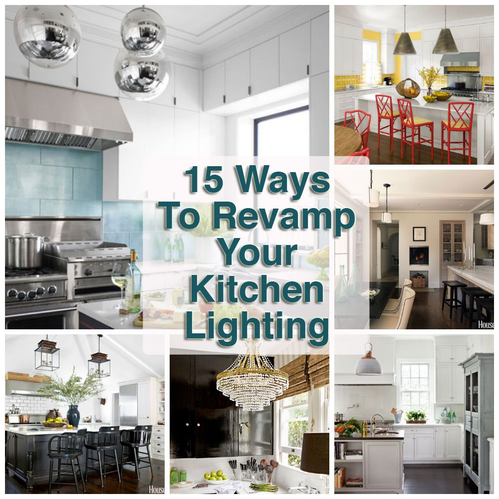 Kitchen Lighting Ideas For Your Beautiful Kitchen: 15 Ideas To Revamp Your Kitchen Lighting.