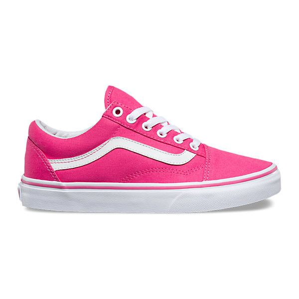 The Cheapest Price Womens Casual Shoes Vans Old Skool Canvas Fandango Pink