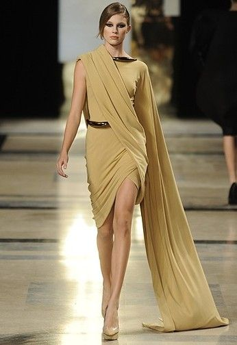 Stephane Rolland Greek Fashion Roman Fashion Greek