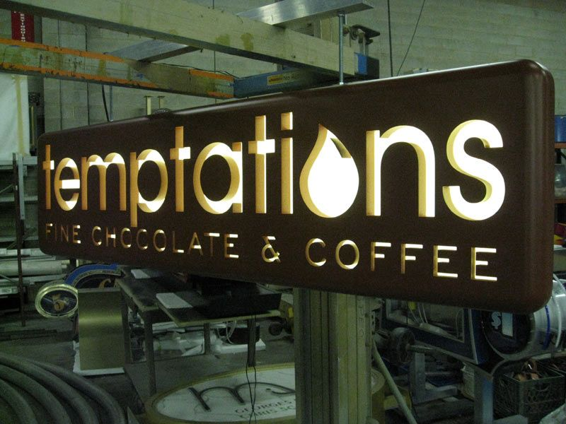 Led Backlit Signs Google Search Pinteres