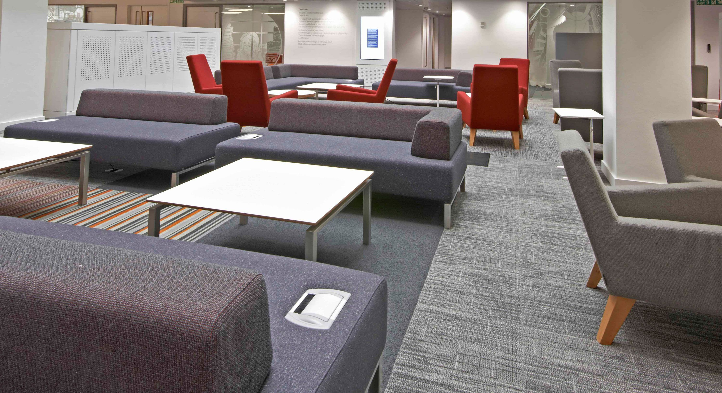 Alan Gilbert Learning Commons University Of Manchester Hitch  # Muebles Dico Power Center