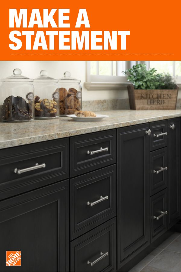 The Home Depot Has Everything You Need For Your Home Improvement Projects Click Through To Lea Home Decor Kitchen Dark Kitchen Cabinets Kitchen Cabinet Colors