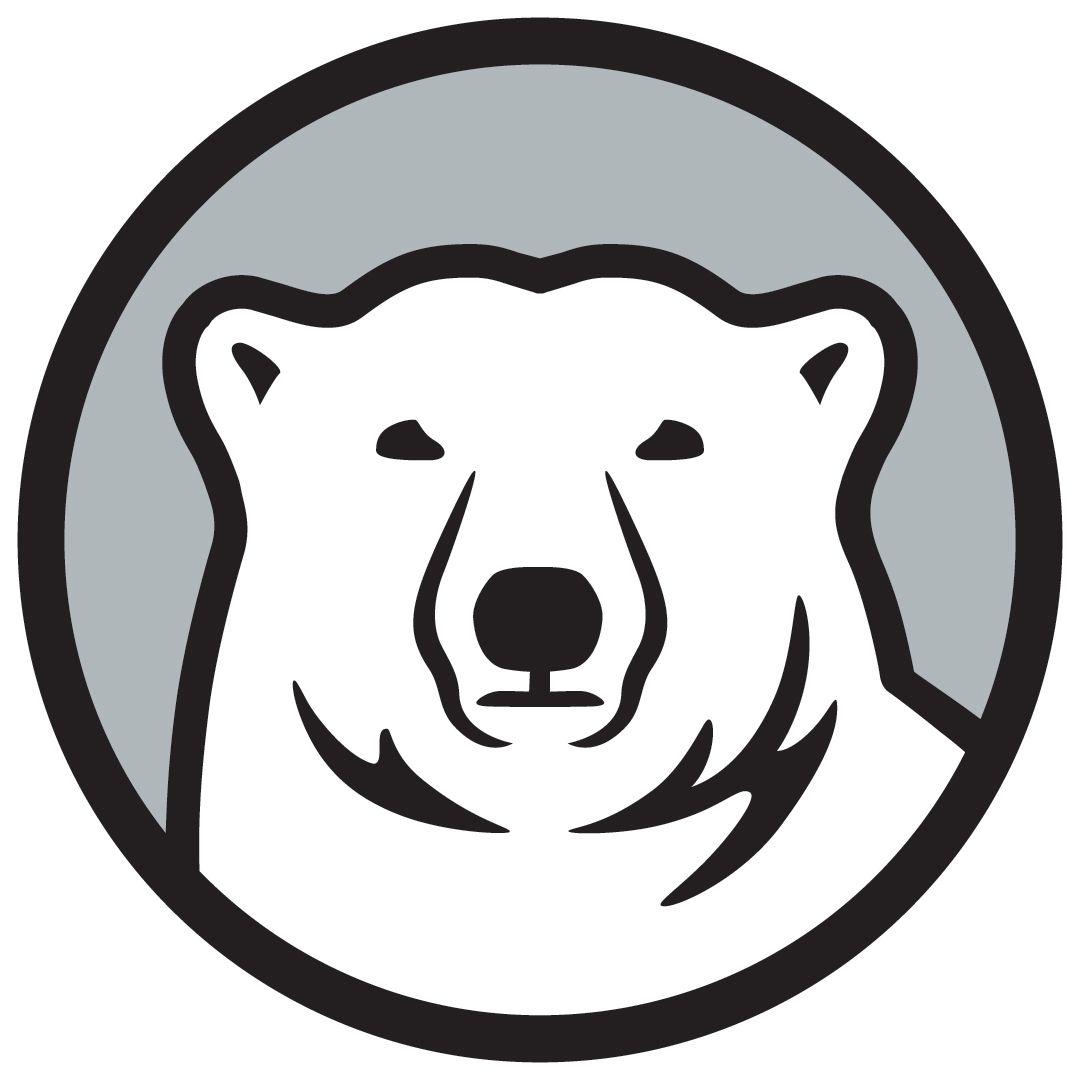 Pin By Chris Basten On Polar Bears Logos Polar Bear Logo Bear Vector Bear Logo