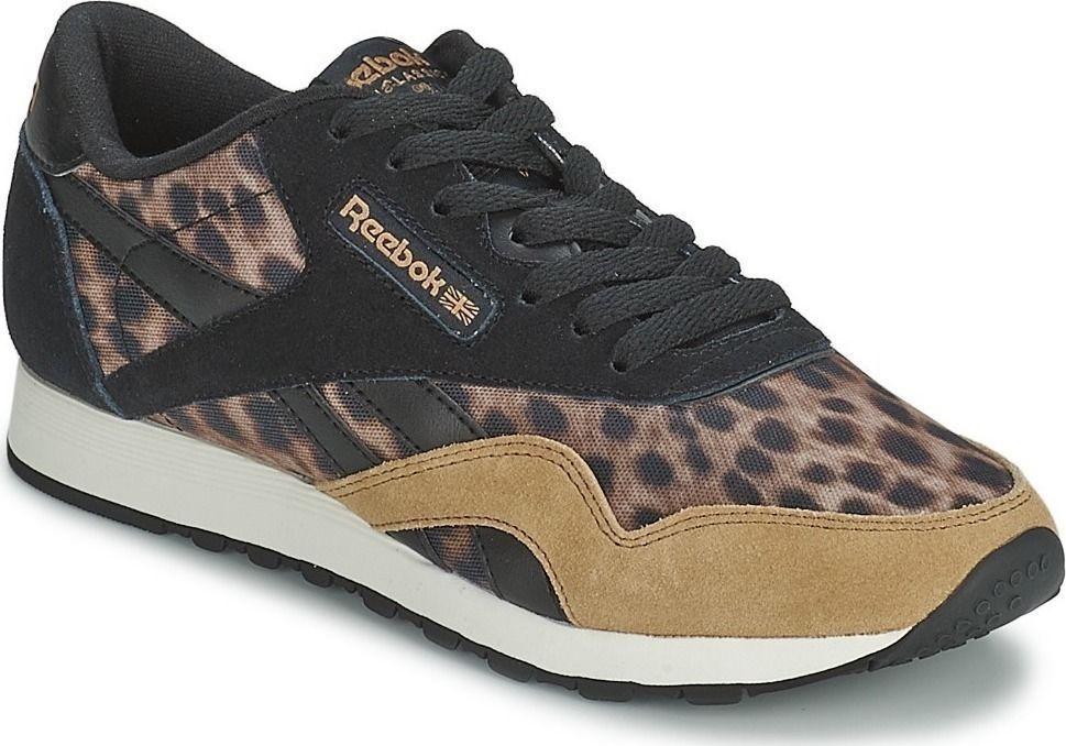 10754bcf NEW REEBOK CL CLASSIC NYLON WILD Leopard Print WOMENS Limited NIB #Reebok  #Athletic