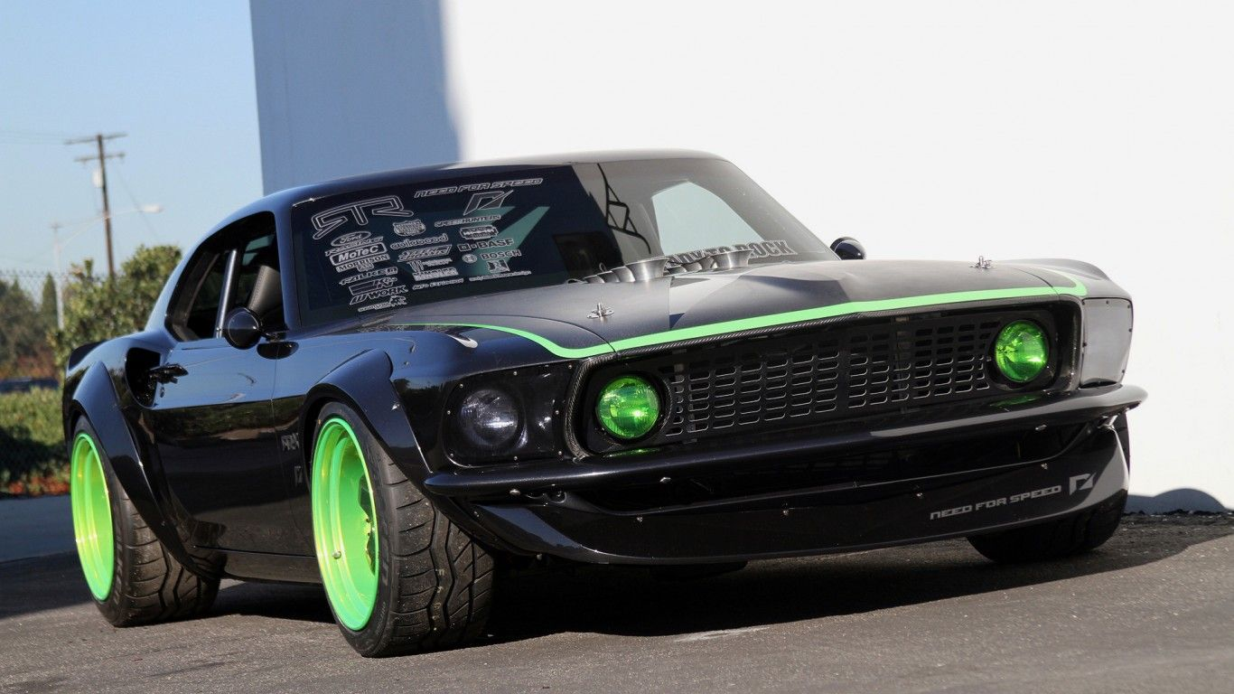 Download Wallpaper Ford Mustang Tuning Ford Resolution 1366x768 Ford Mustang Ford Mustang Boss Mustang
