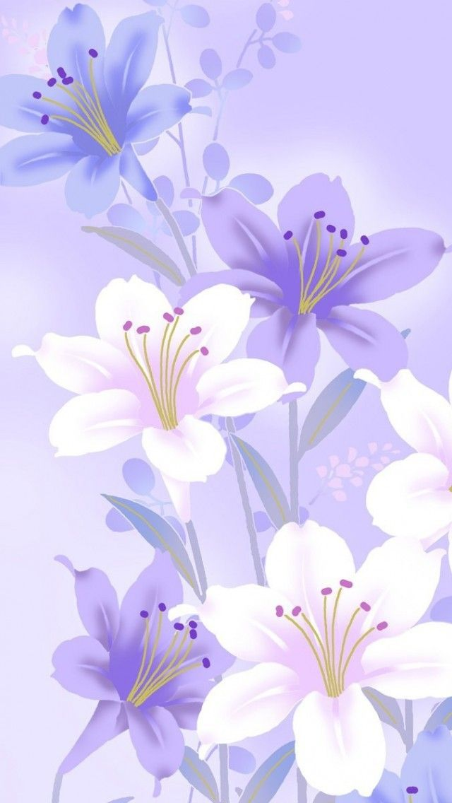 flower wallpaper for iPhone and Android Flower