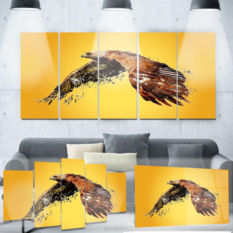 Designart \'Soaring Eagle\' Animal | Products | Pinterest | Eagle ...
