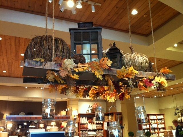 Orange It Lovely}: Another Pottery Barn Fall decorating class ...