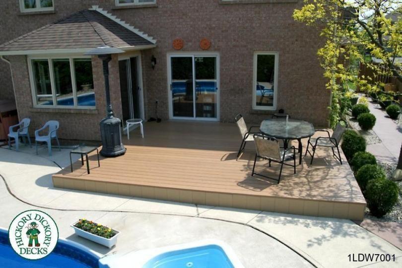 Deck Plan 1ldw7001 Diy Deck Plans Deck Plans Diy Deck Patio