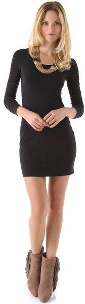 Splendid Long Sleeve Mini Dress   #Chic Only #Glamour Always
