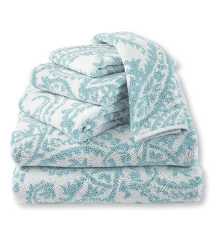 Ultra Absorbent Jacquard Towels Paisley Towel Paisley Towel Set