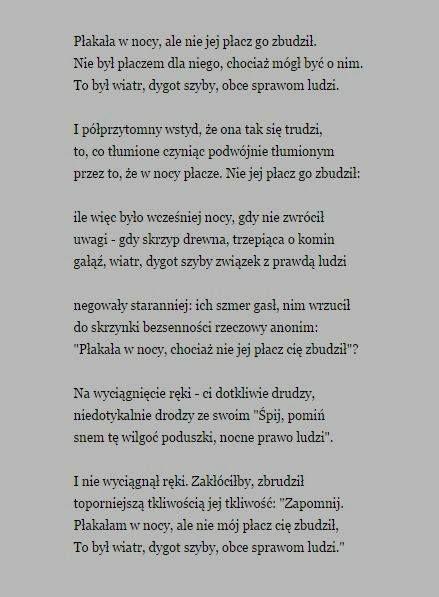 Stanisław Barańczak Wiersze Cytaty życiowe I Myśli