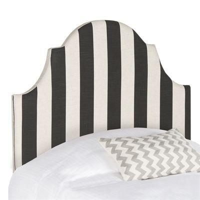 Safavieh MCR4 Hallmar Awning Stripe Headboard