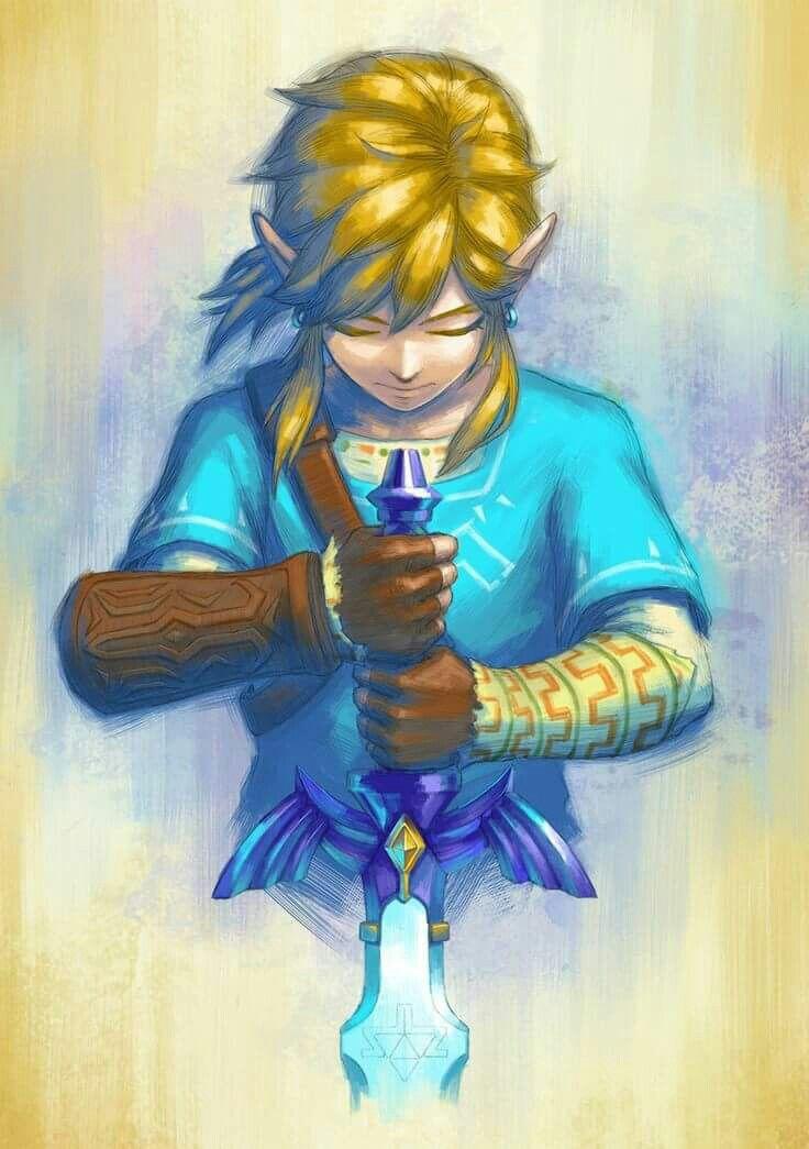 Link Breath Of The Wild Dessin Zelda Jeux Video Arts Dessin
