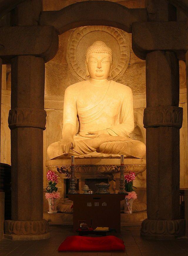 Seokguram Buddha - Buddhist art - Wikipedia, the free encyclopedia