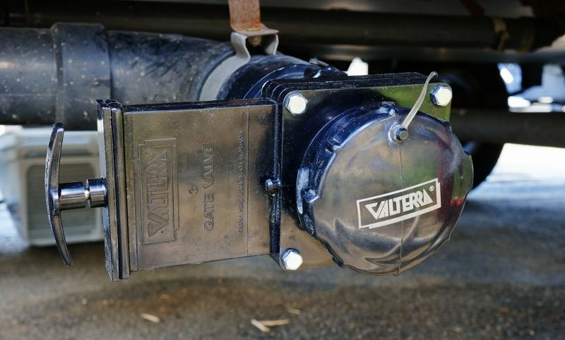 Twist On Waste Valve For The Rv Valve Rv Hacks Camper Renovation