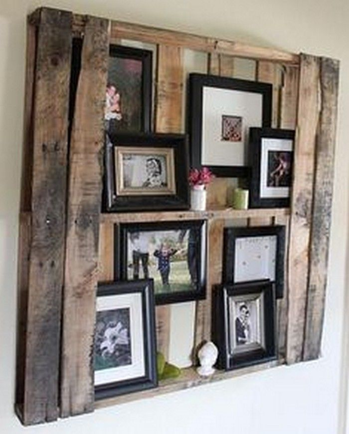 Perfect DIY Wooden Pallet Wall Decor