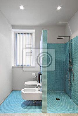 cabina-doccia-in-muratura-a-sanitari-in-un-bagno-moderno-gi-di ... - Bagni In Muratura Moderni