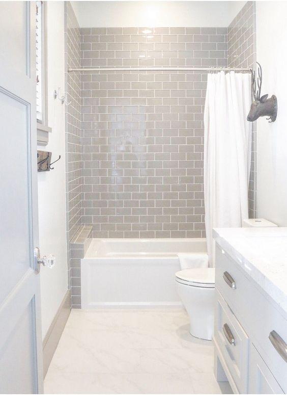 73 ideas de decoración para baños modernos pequeños 2018 | Cuarto De ...
