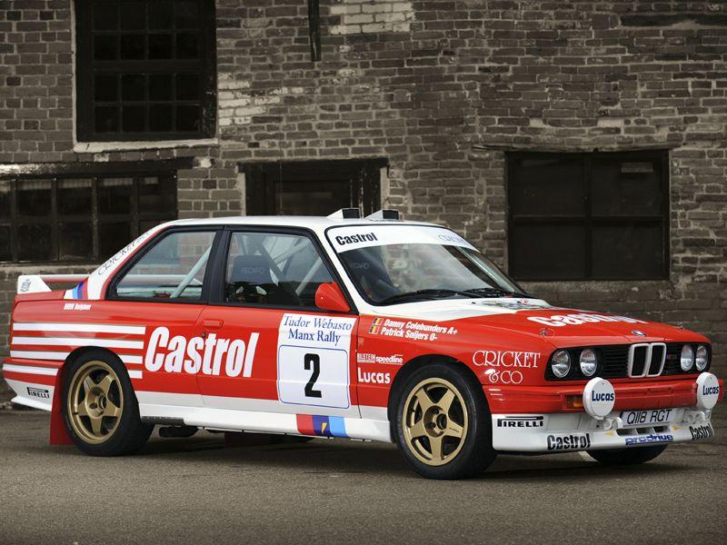 Bmw M3 Group A Rally E30 1987 90 Rallye Bmw Cars Bmw