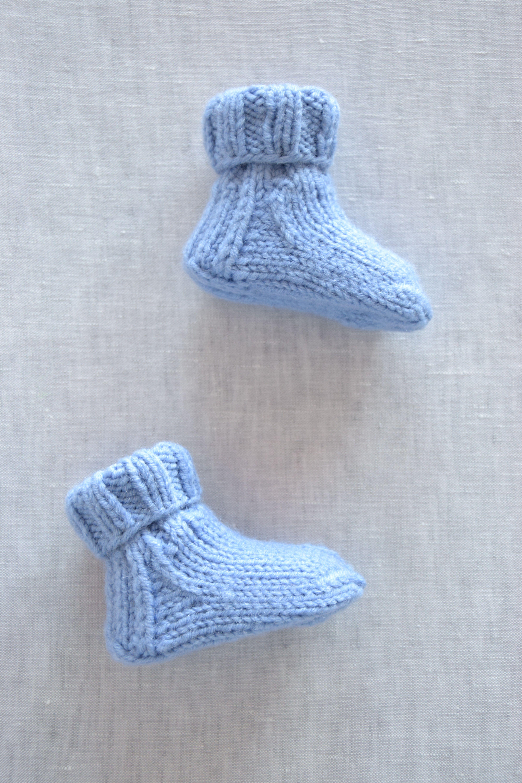 Baby boys socks Knitted socks Handmade socks Newborn booties