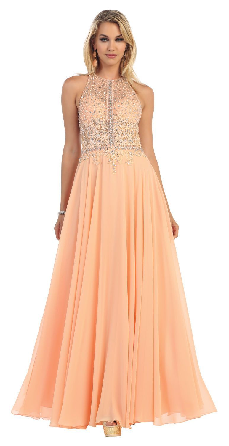 Long formal prom dress cut outs products and chiffon dresses