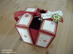 Bilder Origami oder Explosions Box 016 - not in English but has a great photo tutorial