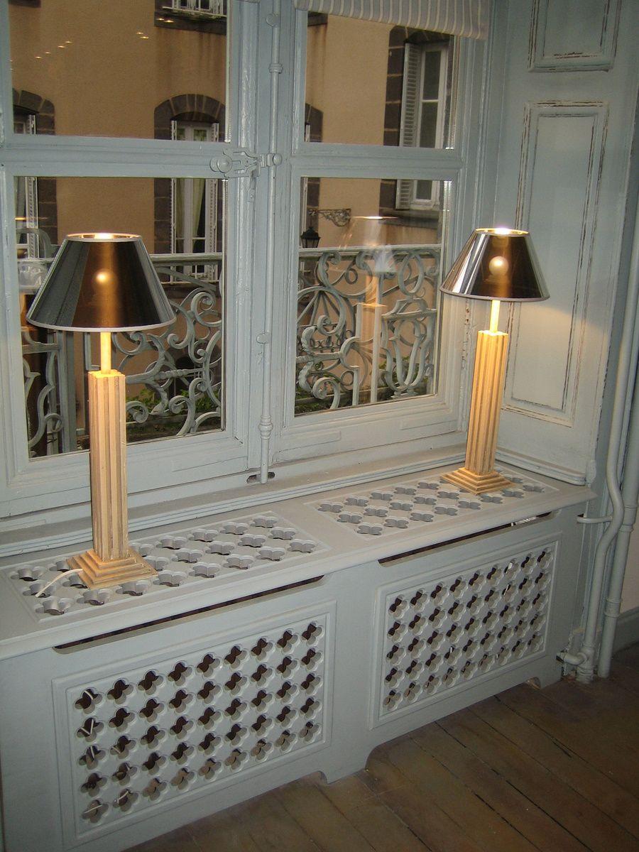 cacher un radiateur astuces. Black Bedroom Furniture Sets. Home Design Ideas