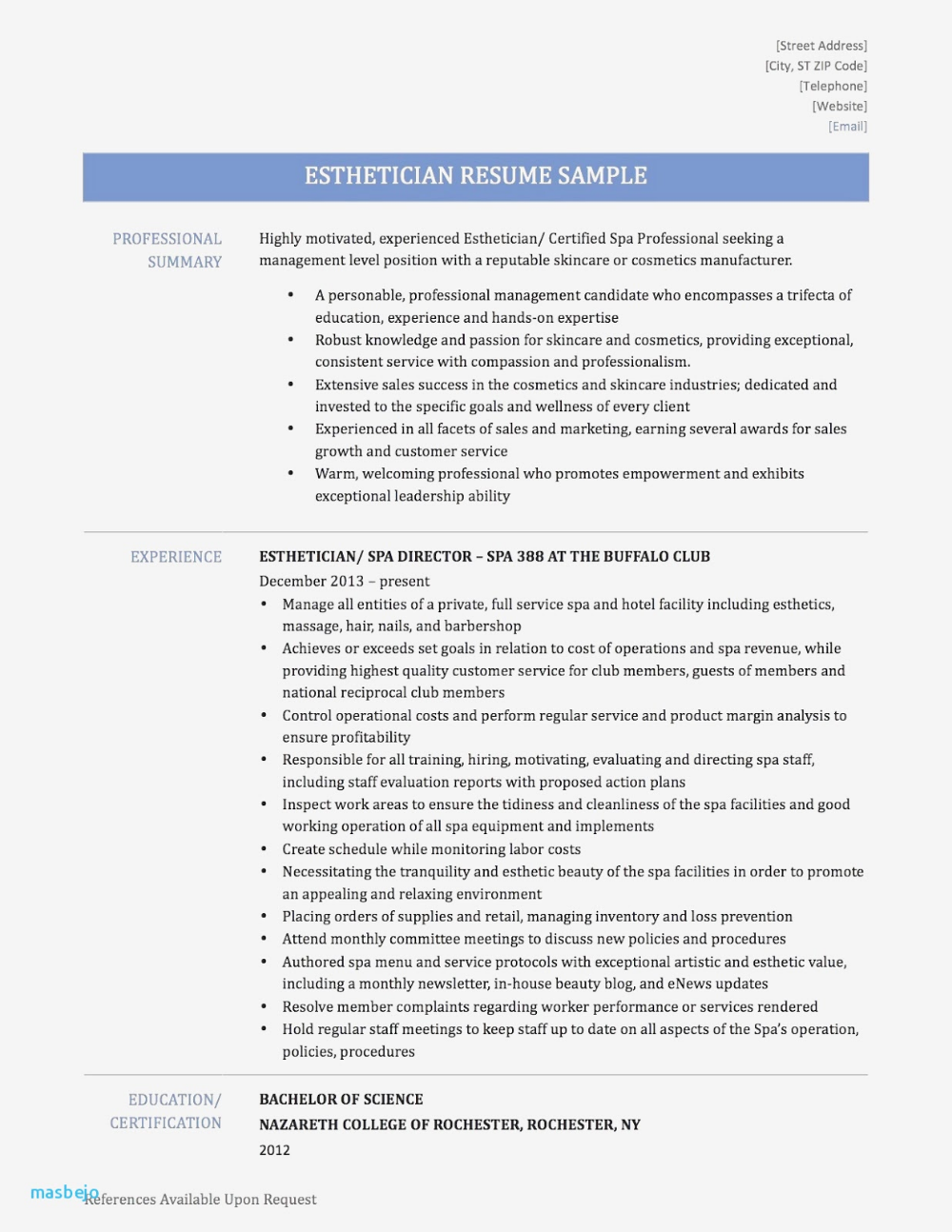 Marketing Manager Resume Example Update Yours Now for