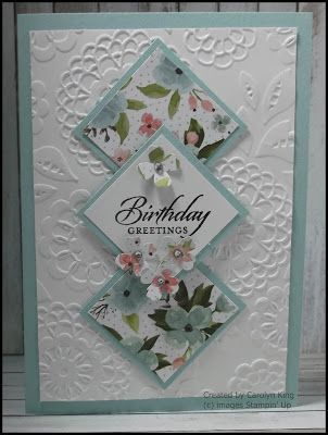 Using Designer Series Paper Handmade Cards Pinterest Cards
