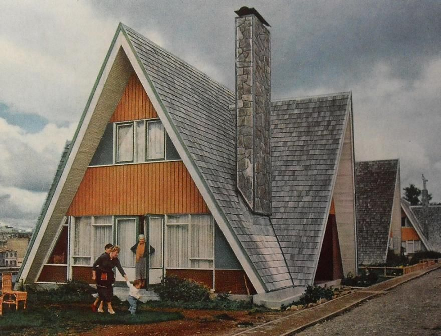 I want an A frame house | bldg | Pinterest | Hausbau, Architektur ...