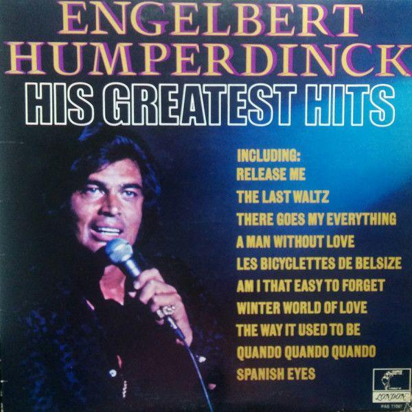 Engelbert Humperdinck His Greatest Hits Vinyl Lp At Discogs