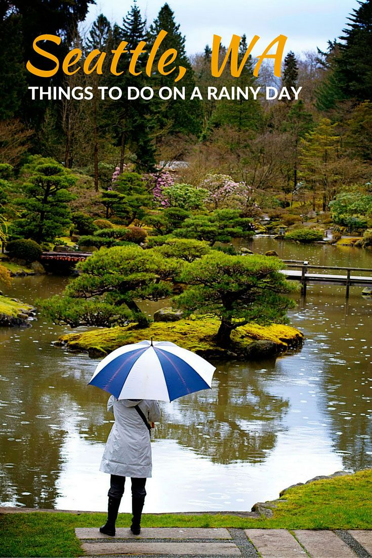6 Activities For A Rainy Day In Seattle Walking On