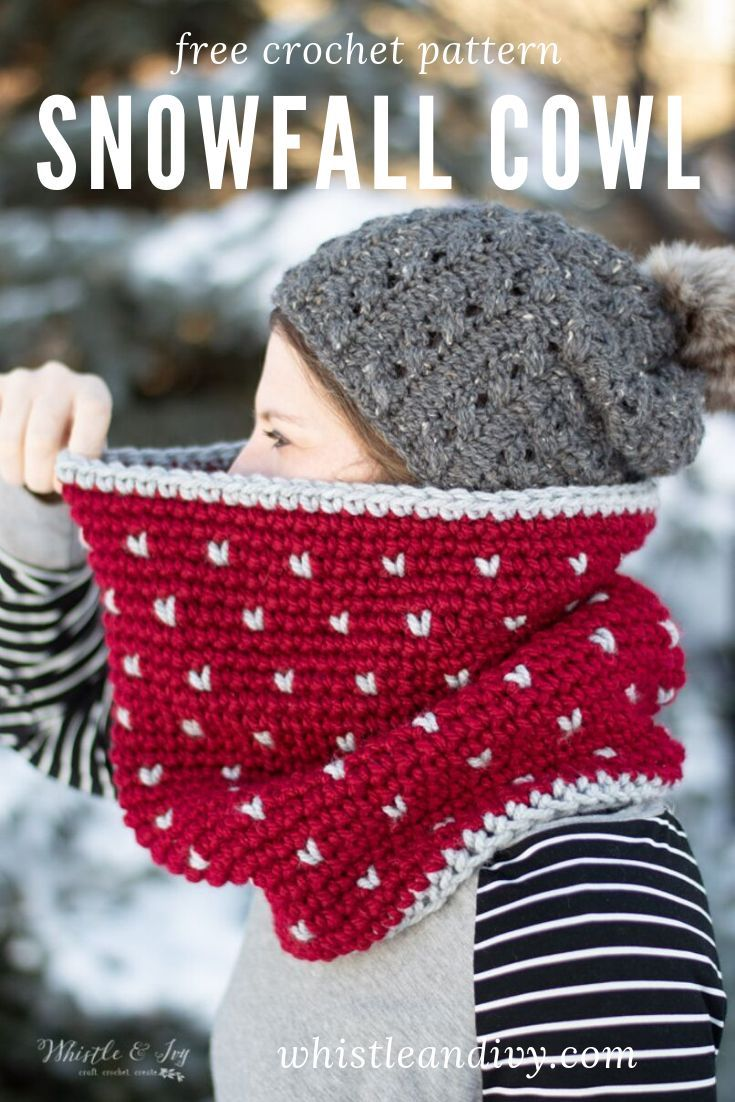 Photo of Crochet Knit-Look Cowl – Free Crochet Pattern