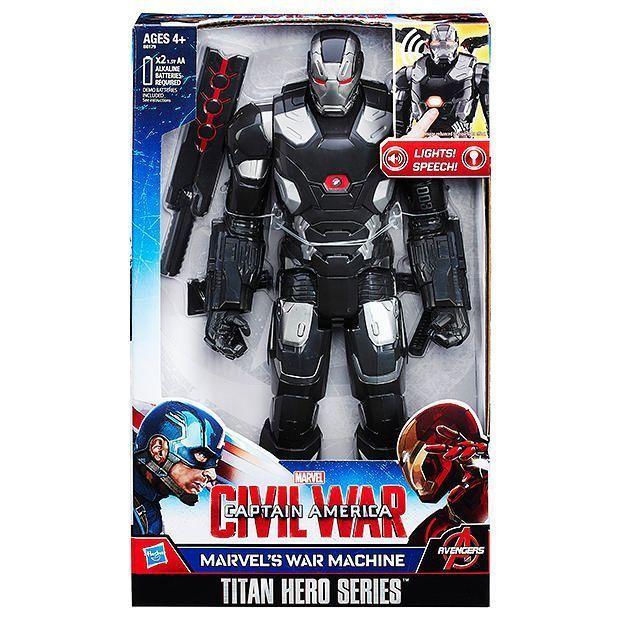 NEW Marvel Titan Hero Series Marvel's War Machine Electronic Figure