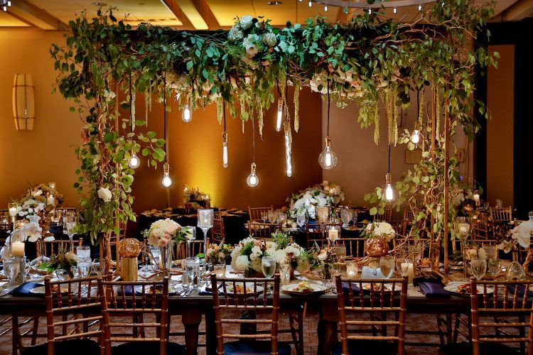 Luxury Wedding Decorations Floral Chicago Yanni Design Studio Luxury Wedding Decor Head Table Wedding Decorations Rustic Wedding Table Decor