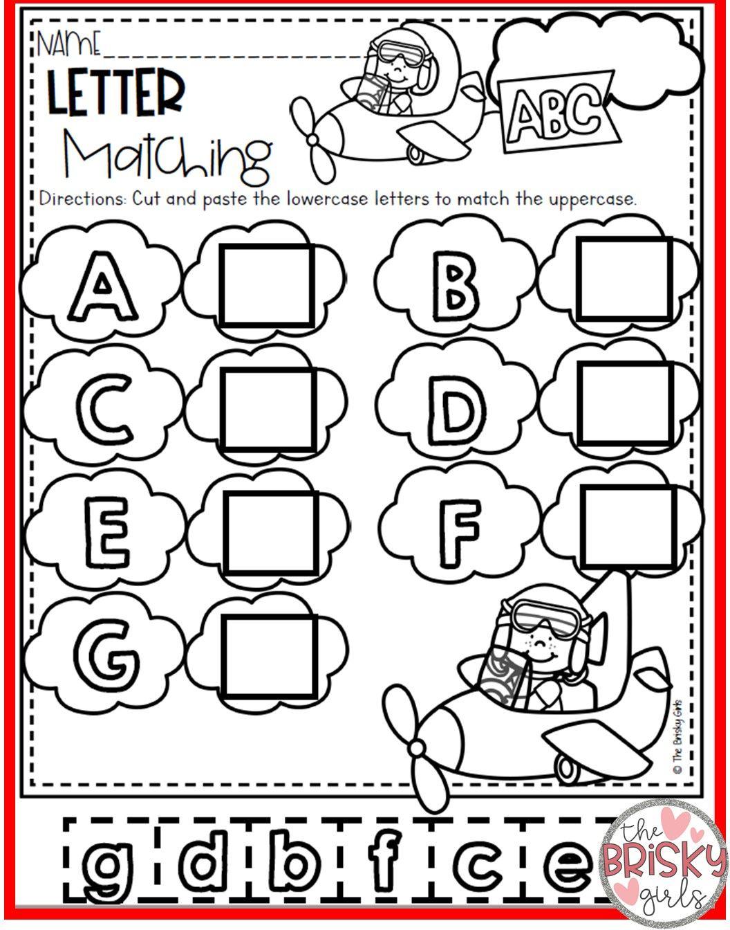 Kindergarten Take Home Packet