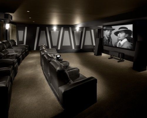 Ultra Modern Home Theater Designs