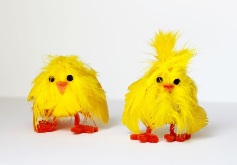 DIY Chick eggs - how cute are these?