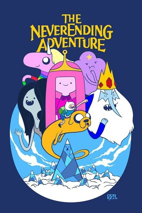 Adventure Time Never Ending Story Adventure Time Funny