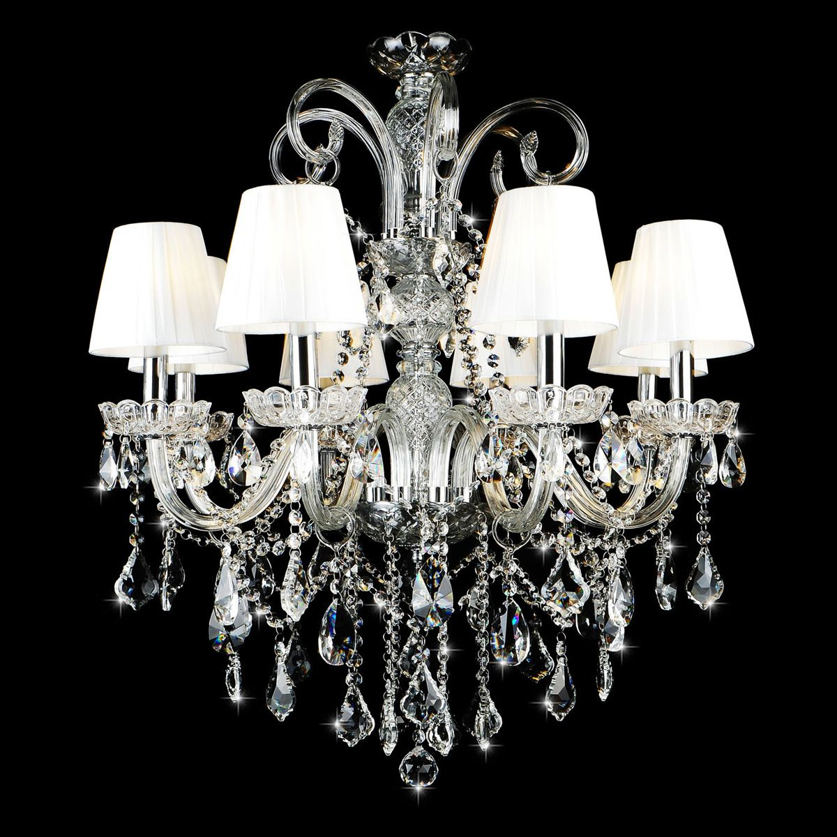 Free Shipping European Style Candle Crystal Chandelier Lamp House The Living Room Dining Bedroom New